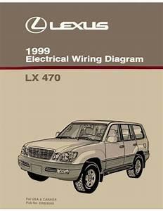 1999 Lexus Lx 470 Wiring Diagrams Schematics Layout Factory Oem