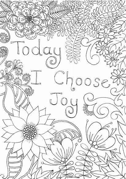 Coloring Affirmation Colouring Positive Mindful Books Affirmations