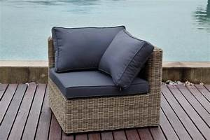fauteuil d39angle liberty osier salon de jardin en rsine With fauteuil en angle