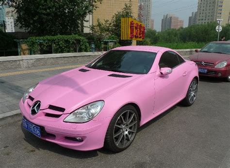 Pink Mercedes Slk ☆ Girly Cars For Female Drivers! Love