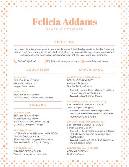 Colorful Resume Templates by Customize 100 Colorful Resume Templates Canva