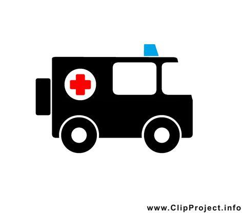 rettungswagen clipart bild