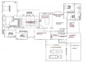 Five Bedroom Home Plans Photo by 5 Bedroom House Plans One Story Simple 5 Bedroom House