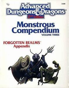 Monster Manuals 158711  Mc3 Forgotten Realms Appendix