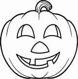 Pumpkin Coloring Printable sketch template