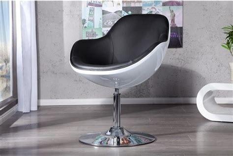 white swivel pod chair jupiter design armchair white black faux leather lounge