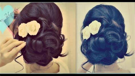 easy wedding updo  curls prom hairstyles hair