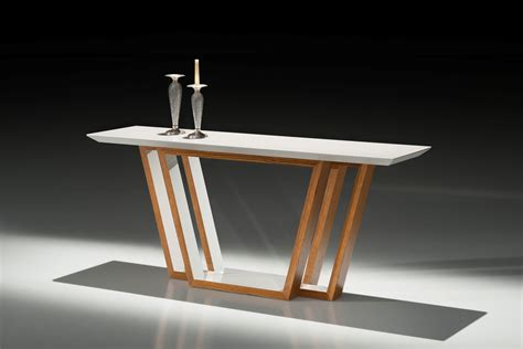 white wood console table filippo white wood modern console table contemporary