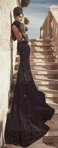 wedding black dress wedding ideas With black gowns for wedding