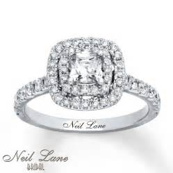 kays jewelers engagement rings neil engagement ring 1 1 8 ct tw diamonds 14k white gold