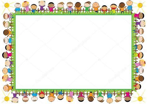 Cornice Bambini Cornice Colorata Per Bambini Vettoriali Stock 169 Justaa