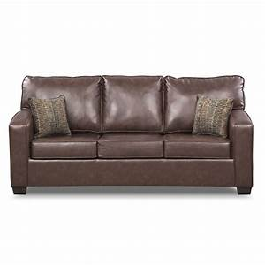 Brookline queen innerspring sleeper sofa american for Sectional couch with queen sleeper