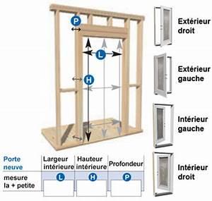 Porte Standard Interieur. dimensions bloc porte. fourniture de porte ... 8763f97f088