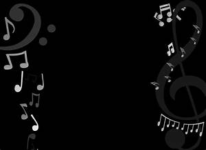 Black And White Music Notes - Clipartion.com