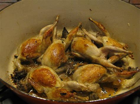 cuisiner une caille cuisiner des cailles en cocotte 28 images cuisiner des