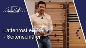 Lattenrost Einstellen 90 Kg : lattenrost richtig einstellen tipps f r seitenschl fer youtube ~ Watch28wear.com Haus und Dekorationen