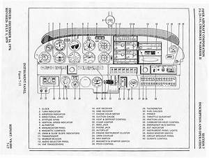 Piper Warrior Instrument Panel Diagram