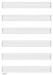 Free Printable Blank Music Staff Paper