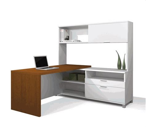 modern l shaped desk with hutch l shaped desk package with hutch desks furniture