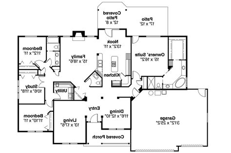 one house plans large one ranch house plans 2017 house plans and