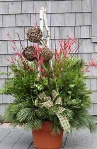 Decoration De Noel Exterieur En Pot