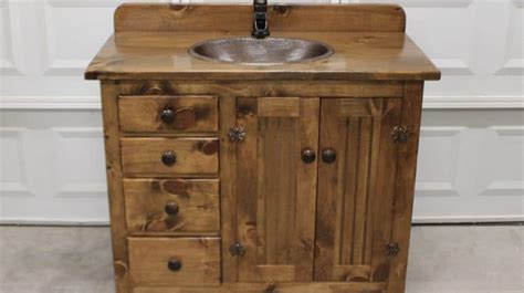 Popular Bathroom Vanities by 19 Creative And Popular Ideas For Rustic Bathroom Vanities