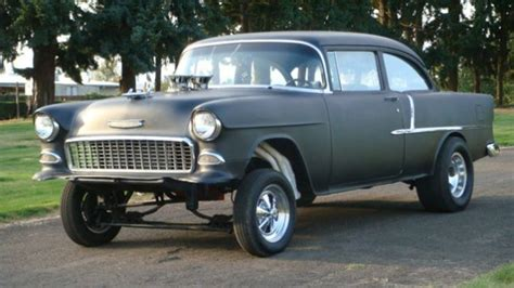 chevrolet bel air   awesome gasser