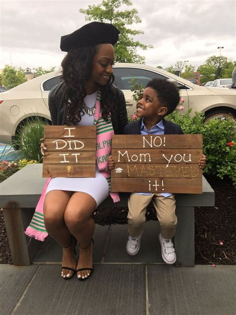 mom  son inspire thousands  creative graduation