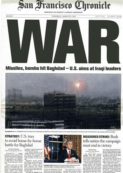 chronicle covers      war