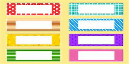 Labels Tray Editable Classroom Themed Drawer Twinkl