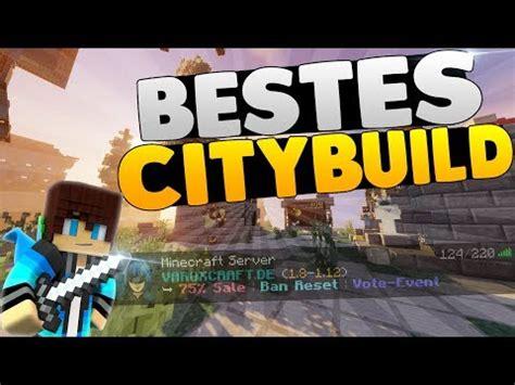 der beste citybuild server minecraft server vorstellung