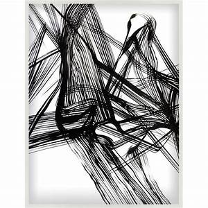 Black Ink Abstract Art