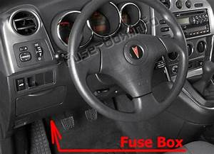 Fuse Box Diagram  U0026gt  Pontiac Vibe  2003