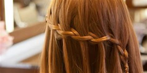 How To Waterfall Braid Your Hair In 8 Easy Steps (video