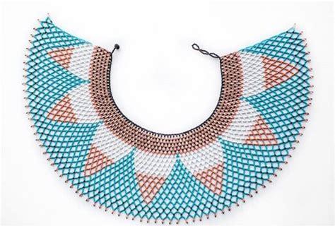 xhosa beaded collar clipkulture