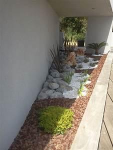 amenagement jardin avec galets fashion designs With amenagement jardin avec galets
