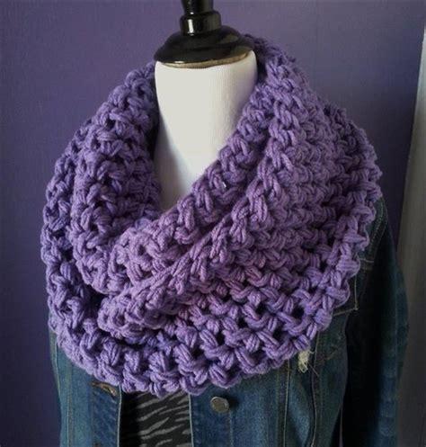 super easy crochet infinity scarf ideas diy