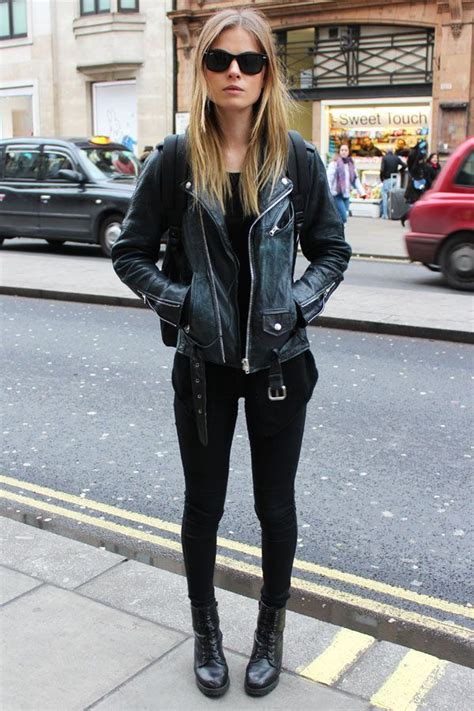 How to Wear Your Leather Jacket this Winter u2013 Glam Radar