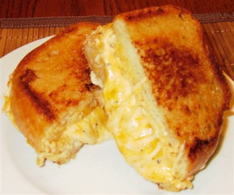ultimate grilled cheese sandwich recipe foodcom
