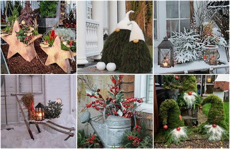 Märchenhafte Weihnachtsdeko Für Garten & Balkon