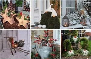Winterharte Bäumchen Für Balkon : m rchenhafte weihnachtsdeko f r garten balkon 30 tolle ideen ~ Buech-reservation.com Haus und Dekorationen