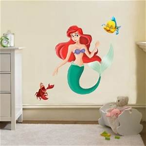 the little mermaid disney decal removable wall sticker With where to buy little mermaid wall decals
