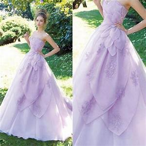 lavender wedding dresses beautiful sweetheart hand made With lilac wedding dress