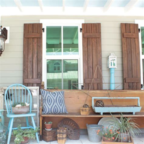 diy shutters mother earth news