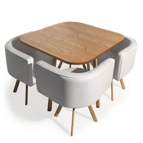 table avec chaises table avec chaise encastrable