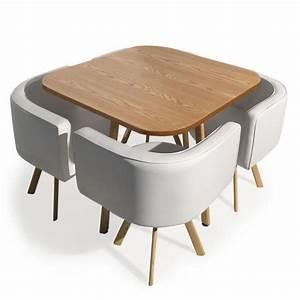 Table Avec Chaise Encastrable : table avec chaise encastrable achat vente table avec chaise encastrable pas cher cdiscount ~ Teatrodelosmanantiales.com Idées de Décoration