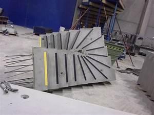 Escalier Colimaçon Beton : des escaliers en b ton pr fabriqu sur mesure d haute qualit ~ Melissatoandfro.com Idées de Décoration