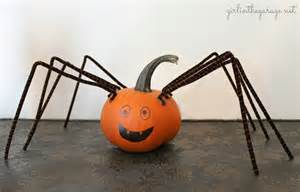 Spider Halloween Pumpkin Faces