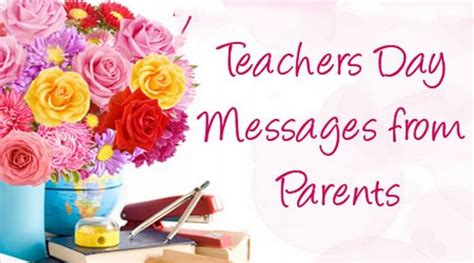 teachers day messages  parents   wishes