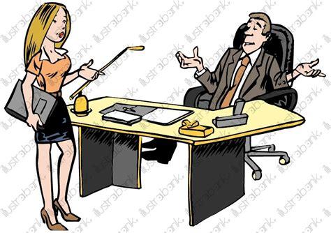 entretien d embauche secretaire entretien d embauche illustration libre de droit sur illustrabank